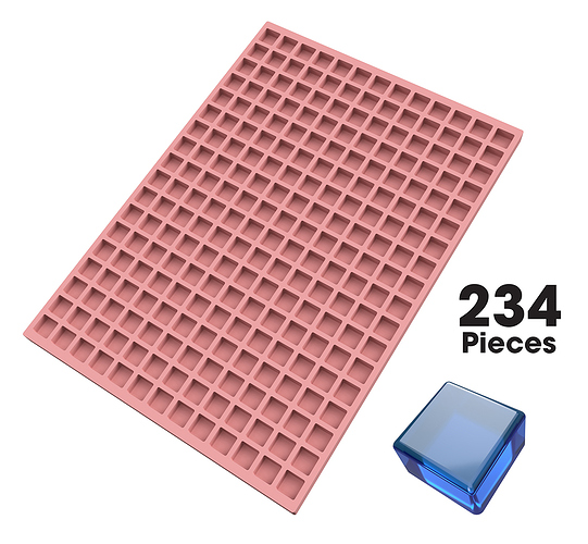 Square-Silicone-Candy-Mold