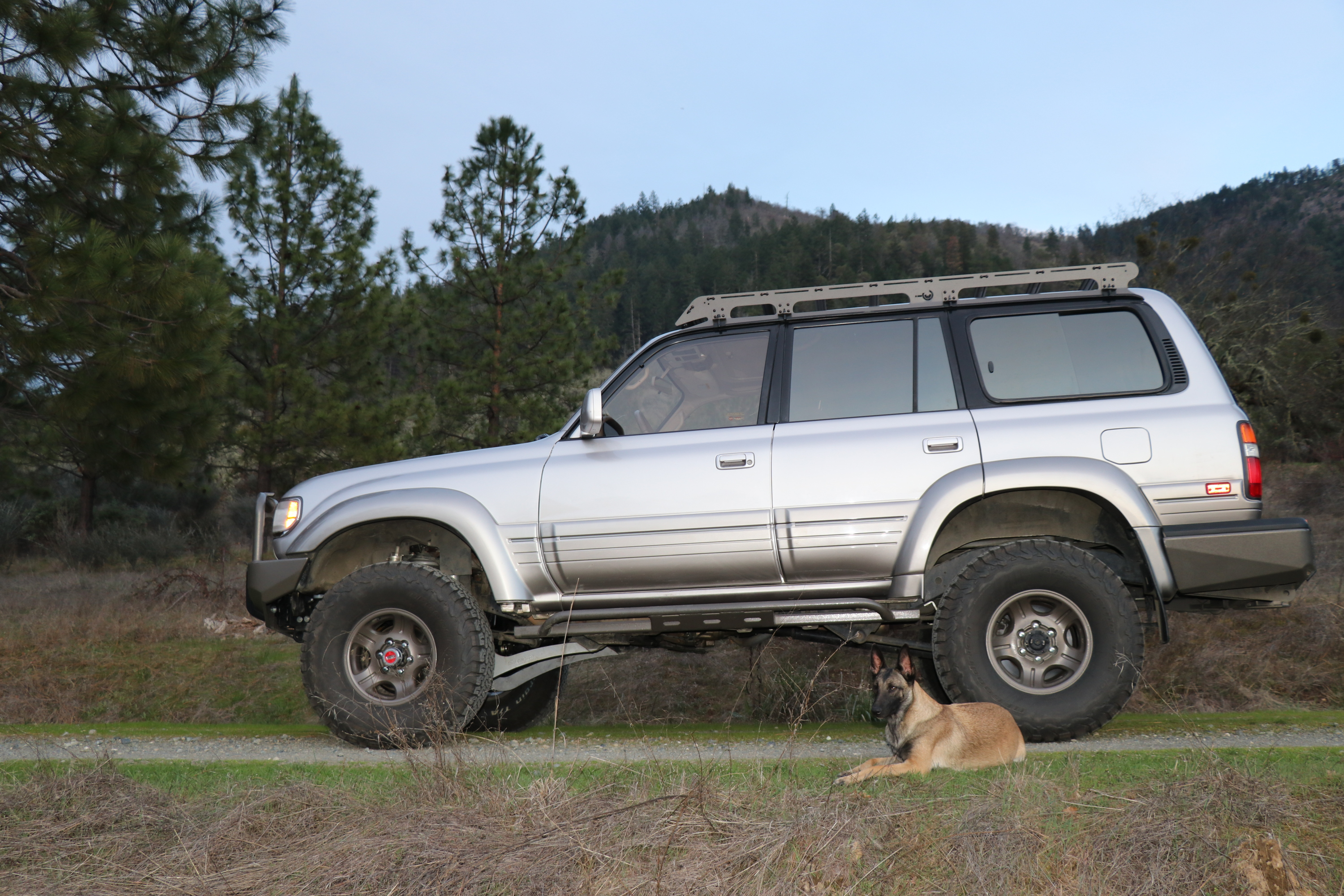 Any ballers in need of a Badass Supercharged Landcruiser ...